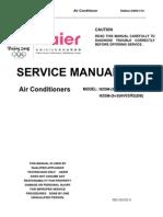 Haier H2SM-(9+9,12)HV03R2(DB)-SM(06-02-10) air conditioner sm
