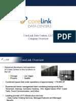 CoreLink Overview Presentation
