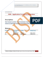 FDM Creating Application