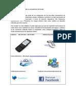 Manual de Instrucciones Al Usuario Configuraciones