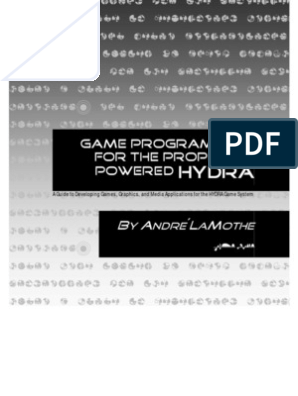 HydraGameDevManual v1 0 1 Video Games