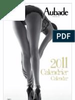 Aubade 2011 Lingerie Calendar