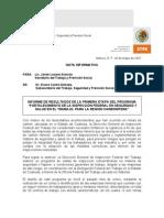 Primera Etapa - Revisión de Minas - Coahuila - STPS
