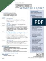 SBCConnect - Agenda (Jun 2011)
