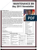 MAY 2011 Newsletter for 2d Maintenance Battalion