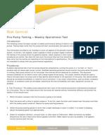 209 Fire Pump Test Weekly Op Test