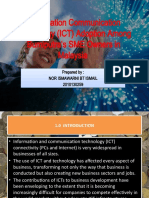 Information Communication Technology (ICT) Adoption