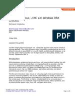 39197093 DB2 DBA Checklist