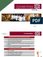 Plan de Impulso del Turismo Enogastronómico en Euskadi