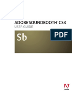 Adobe Soundbooth CS3