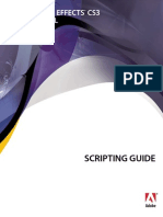 Adobe After Effects CS3 Professional - Scripting Guide