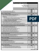 Bid Process Audit Checklist
