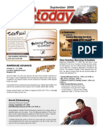 September 2008 Edition of PCCToday