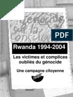 Les victimes et complices du génocide rwandais