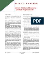 Graduate Program Guide