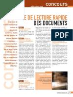 Methode de Lecture Rapide Des Documents
