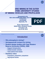 AMOSS JPC 2010 University Studies Mining Issues (2.0)