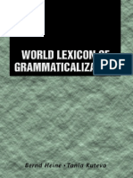 World Lexicon of Grammaticalization