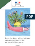 Evolution Pratiques Sociales