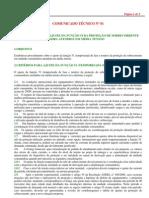 Comunicado Técnico nº 1 - Procedimento para ajuste da função 51 da proteção de sobrecorrente