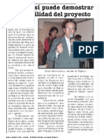Periodico El Sol Oscar Mollohuanca
