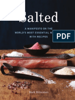 Recipe From Salted by Mark Bitterman