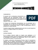 FUNDAMENTO contencioso administrativo