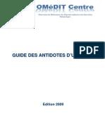 Guide Antidotes 2009