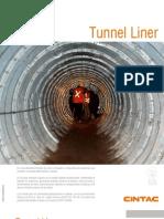 Cintac Infraestructura Vial Ficha Tunnel Liner