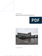 Forth Ports Imperial Grain Silo Demoltion. Main Report