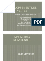 Dveloppement Des Ventes - Le Marketing Relationnel