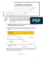 3º teste Jan OTD, Angulos, triangulos