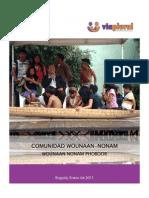 Resumen Ejecutivo Desplazamiento Forzado Comunidad Wounaan Nonam