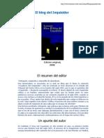 Lorenzo Silva - El Blog Del Inquisidor