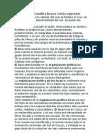 Organizacion Politica Incas
