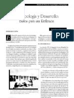 ANTROPOLOGIA Y DESARROLLO