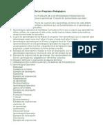 Componentes Estructurales De Los Programas Pedagógicos