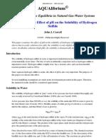 Efecto Del pH en La Solubilidad Del Sulfhidrato de Hidrogeno