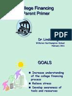 Parent College Financing Primer Williston 2011