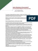 Islamic Banks and Sub Prime