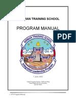 Airman Training School Manual (2003)