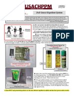 Permethrin Military DOD Insect Repellent System
