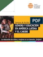Posicionamiento público de la CLADE sobre género y educación