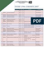 Plan de Estudio 1996_2007