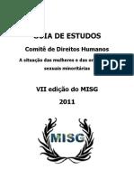 guia de estudos misg 2011