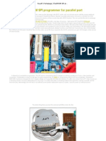 FlashROM SPI Bios Motherboard Programar Por Puerto Paralelo
