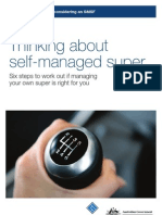 Thinking About Self Managed Super