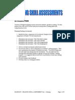 Handout - Reading Skill Assessment