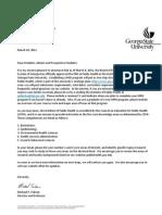IPH PhD Announcement Letter
