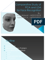 A Comparative Study of PCA and LDA for Face Recognition